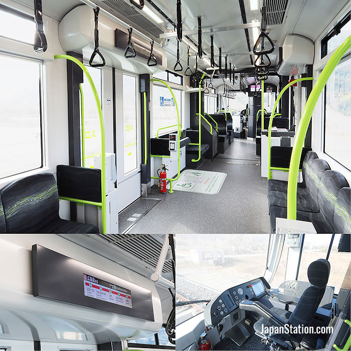 Interior images from the Green Mover Apex