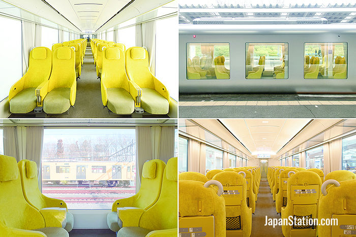 Interior images from Seibu's Laview