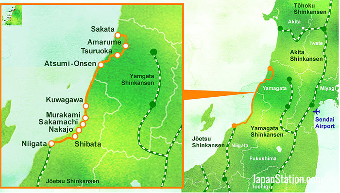 The route of the Kairi