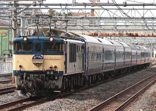 The Blue Train Akebono. Picture by Rsa