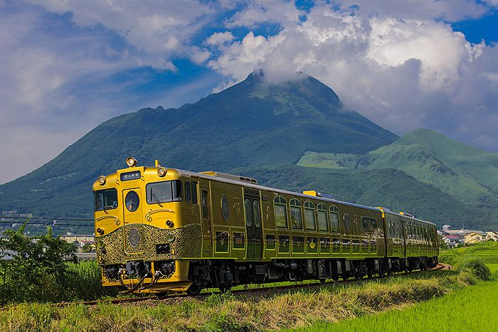 A fantastical creation of legends and dreams: JR Kyushu's Sweet Train