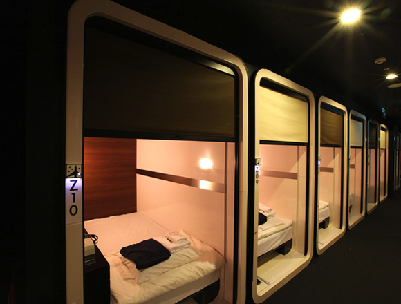 First Cabin have already overturned our preconceptions about capsule hotels with their elegant and spacious cabin interiors. Image from First Cabin