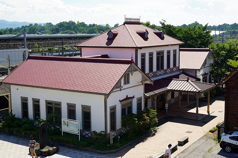 The Old Karuizawa Station Memorial Hall dates from 1910. Photo by 663highland