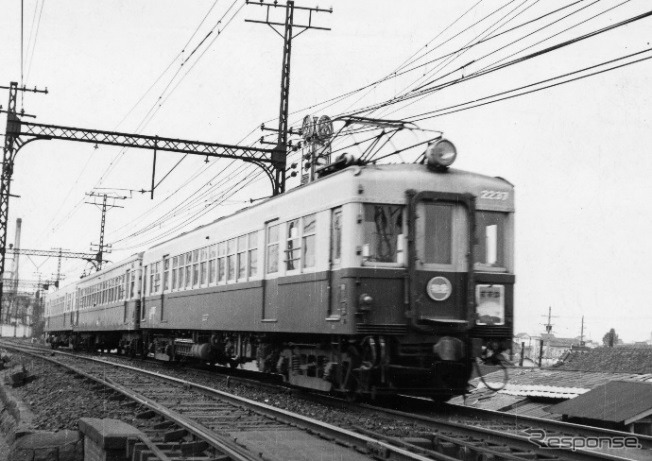 The Limited Express Susuga was Kintetsu's first limited express train