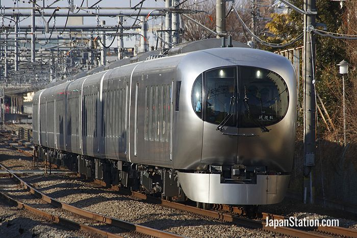 Seibu Railway's new #001 series Laview train