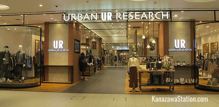 Urban Research sells casual clothes and accessories for men and women