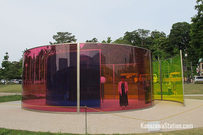 Colour activity house by Danish-Icelandic artist, Olafur Eliasson