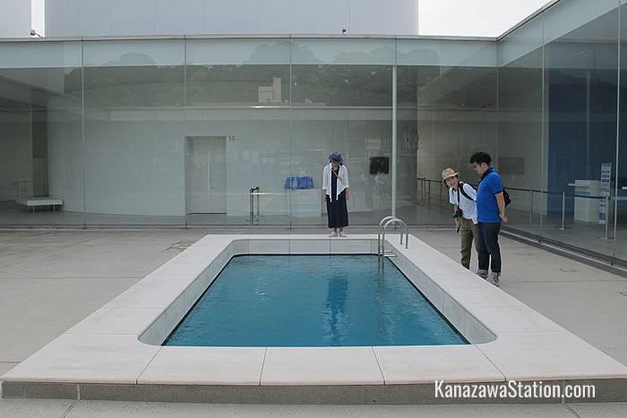The Swimming Pool by Argentine artist, Leandro Erlich