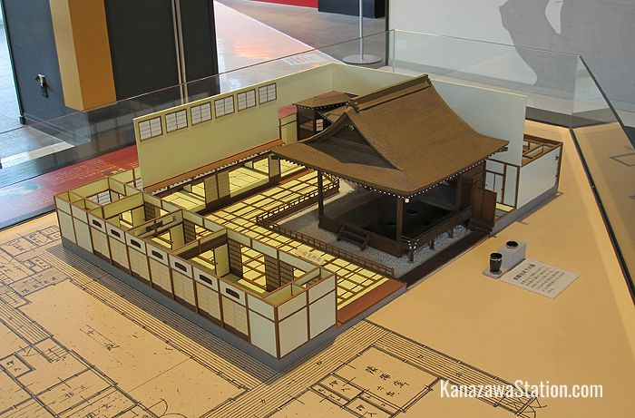 A model of a Noh theater