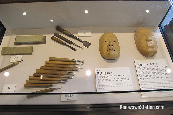 A mask making display