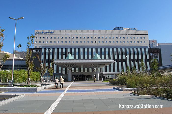 The west side of Kanazawa Station