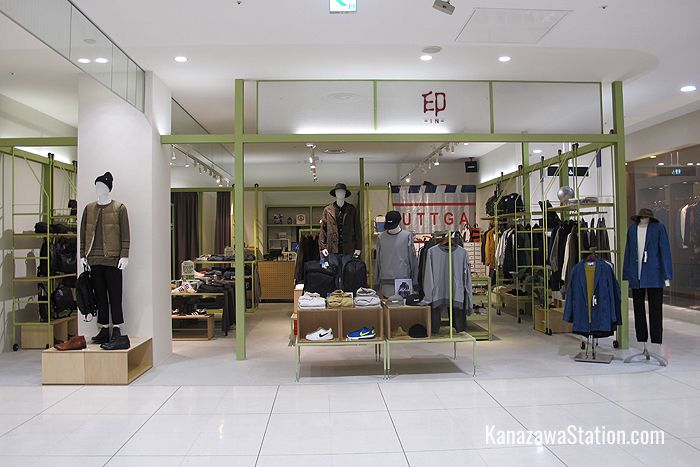 IN on the 4th floor sell cool, comfortable and casual fashion for men and women