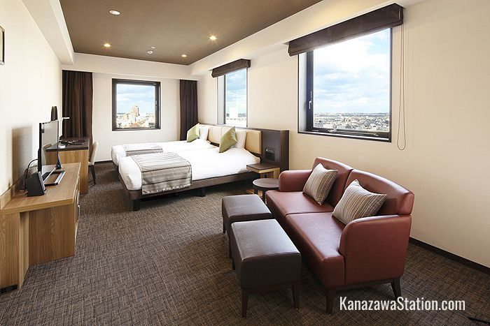 Deluxe Twin Room at Hotel Mystays Premier Kanazawa