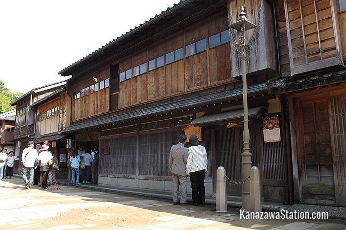 Kaikaro is a popular working teahouse in the Higashi Chaya-gai district