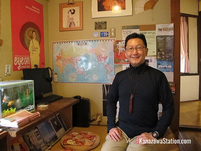 The friendly owner, Masaki, regularly organizes cultural events and parties for his guests