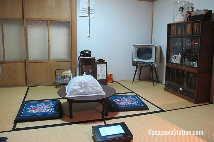 A reconstruction of a Showa era living room around 1957