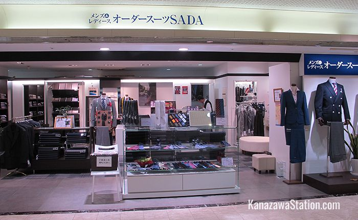 Sada on the 4th floor is a tailor's shop where you can buy affordable order-made suits