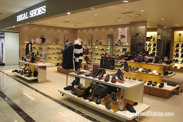 Regal Shoes on the 4th floor is a brand of classic comfortable leather shoes for ladies and men