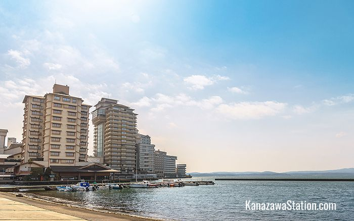 Wakura Onsen seaside hotels