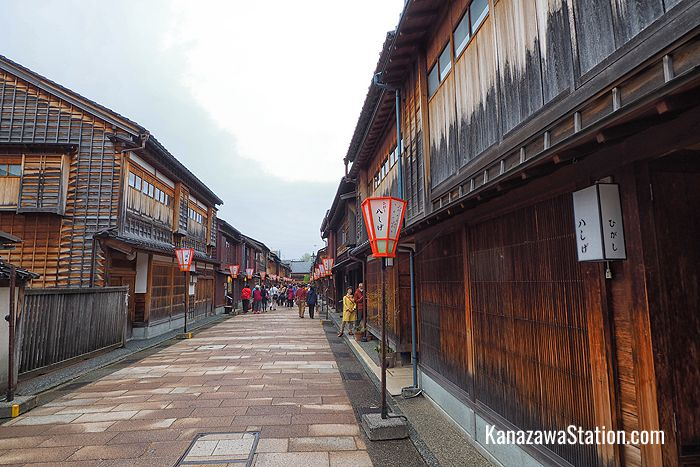 The Higashi Chaya-gai Geisha District