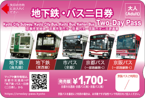 Subway & Bus Two-Day Pass