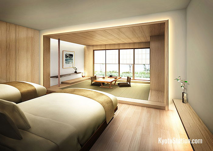 Guest rooms will have all the modern comforts and just a hint of Zen design