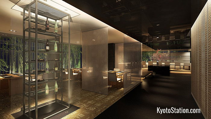 The Japanese Restaurant at The Thousand Kyoto Hotel