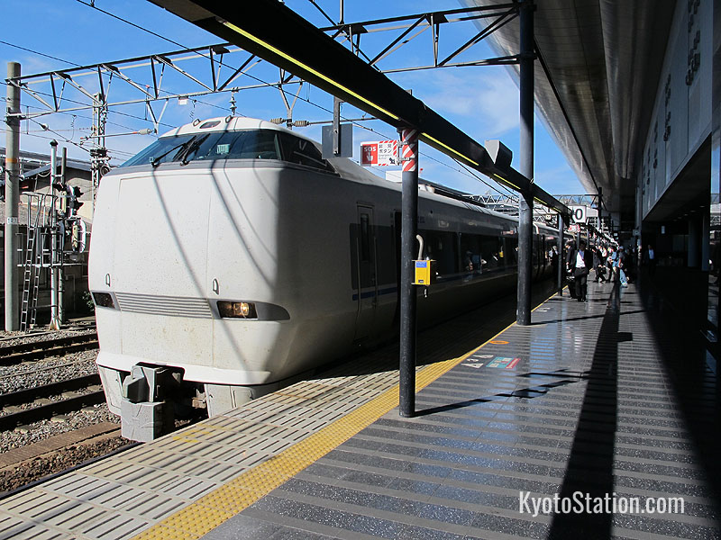 The Thunderbird Limited Express bound for Kanazawa