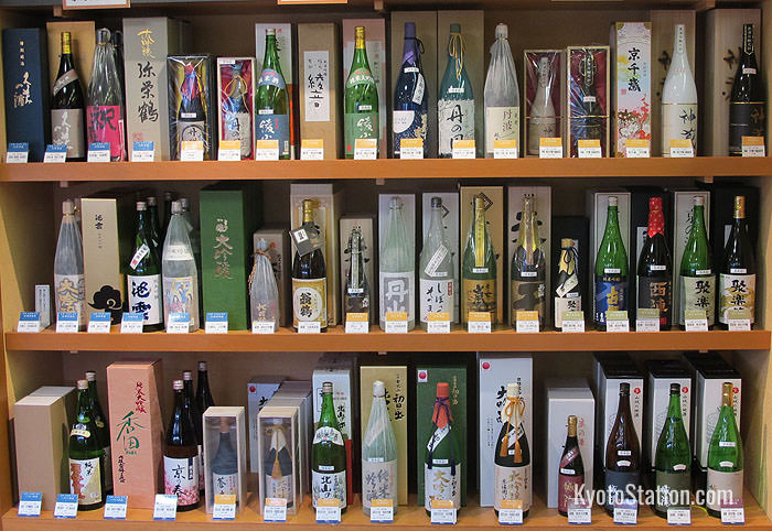 A fine selection of nihonshu, or sake is available on B1