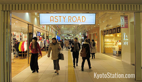 Asty Road at Kyoto Station