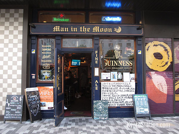 Man in the Moon – an Irish style Pub