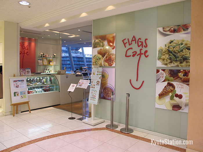 Flags Café – for pasta, cake and herb teas