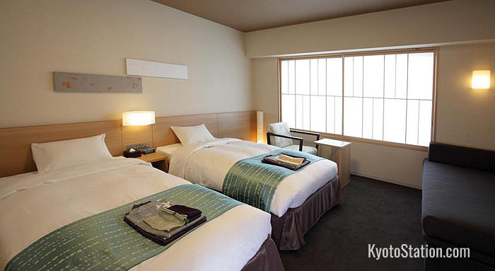 Standard room at Kyoto Hatoya Hotel