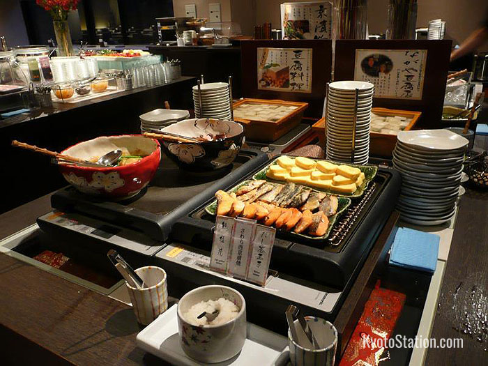 Buffet breakfast at Dormy Inn Premium Kyoto Ekimae