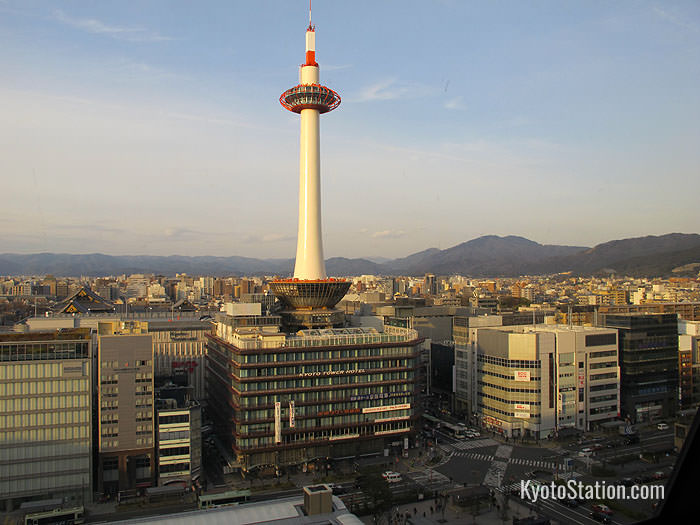 Hotel Hokke Club Kyoto is located next to Kyoto Tower