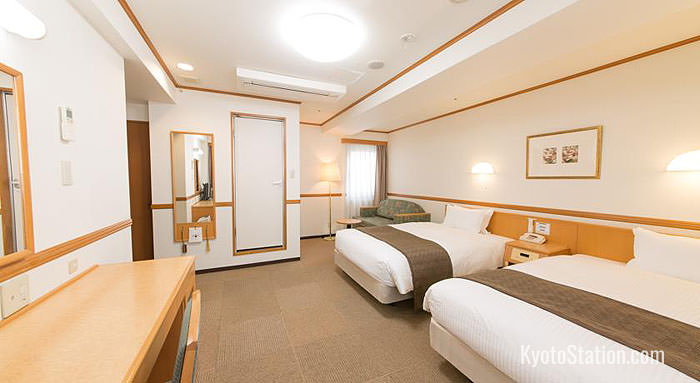 Twin Room at Hotel Hokke Club Kyoto