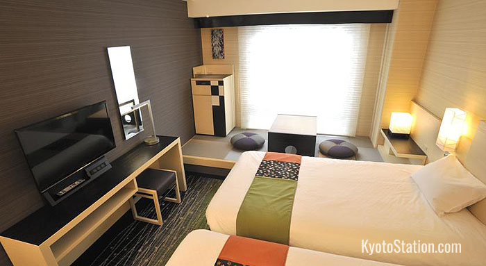 Twin Room at New Hankyu Kyoto