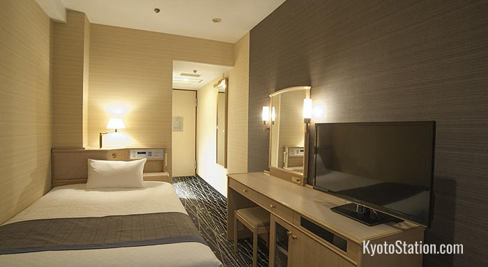 A Single Room at New Hankyu Kyoto