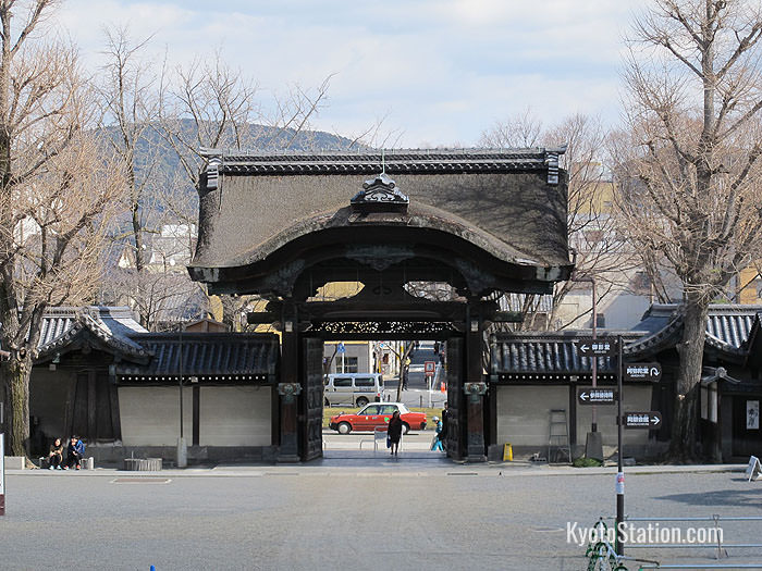 The Amida Hall Gate
