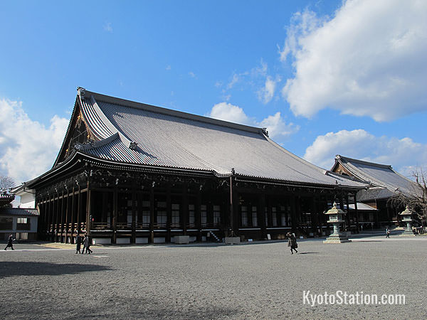 The Founder's Hall of Nishi Honganji
