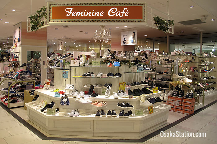 1st Floor shoe store