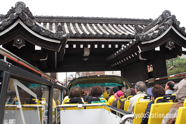 …and the bus will pass through more traditional architecture