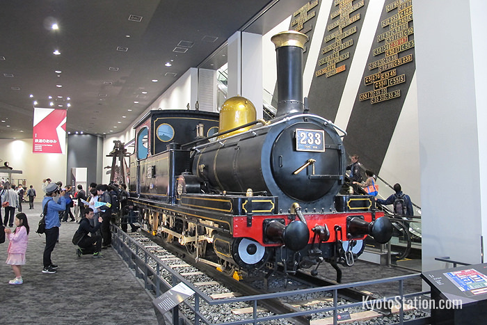 A Class 230 steam locomotive dating from 1903. This is the oldest mass-produced tank engine in Japan
