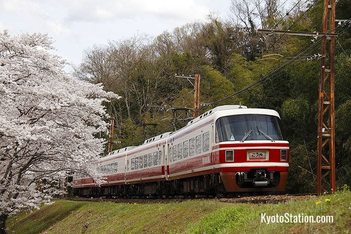The Limited Express Koya runs to Mount Koya