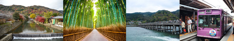 Traveling from Kyoto Station to Arashiyama