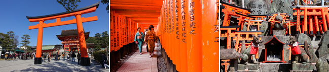 Kyoto Station to Fushimi Inari Taisha Shrine