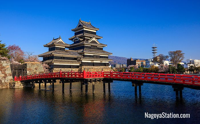 Matsumoto Castle - one of only 12 original castles in the country