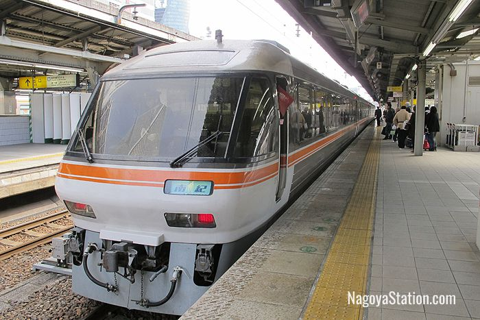 The Limited Express Nanki at Platform 12, Nagoya Station
