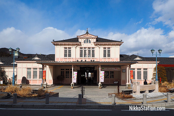 JR Nikko Station building