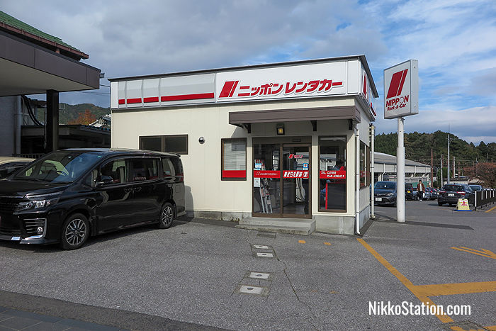 Nippon Rent-A-Car by Tobu Nikko Station